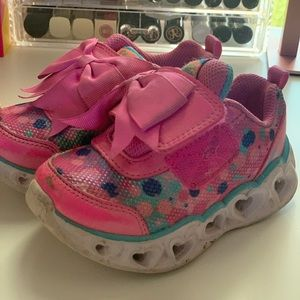 Sketchers sneakers with lights